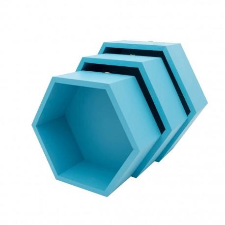 Pólki hexagon 3w1 Wody Oceanu z pleckami