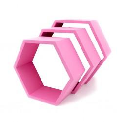Pólki hexagon 3w1 KWIAT WIŚNI