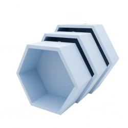 Pólki hexagon 3w1 CHMURKA NA NIEBIE